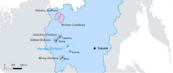 Location of Nyurba MPD